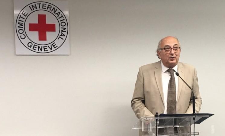 Χαιρετισμός Υφυπουργού Εξωτερικών Γιάννη Αμανατίδη στα Εγκαίνια των νέων γραφείων της Αποστολής της Διεθνούς Επιτροπής Ερυθρού Σταυρού (ICRC) στην Αθήνα