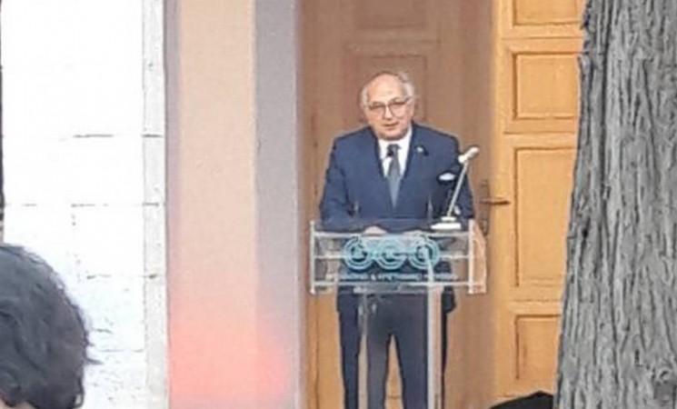 Χαιρετισμός  Υφυπουργού Εξωτερικών, Ι. Αμανατίδη, στην 25η Eπετειακή  Γ.Σ. της Διακοινοβουλευτικής Συνέλευσης Ορθοδοξίας