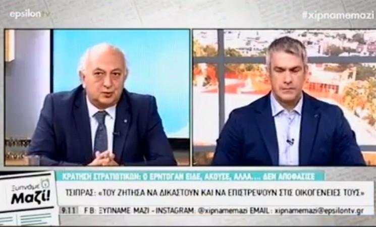 Ο Υφυπουργός Εξωτερικών Γιάννης Αμανατίδης στο Epsilon TV - 13 Ιουλίου 2018