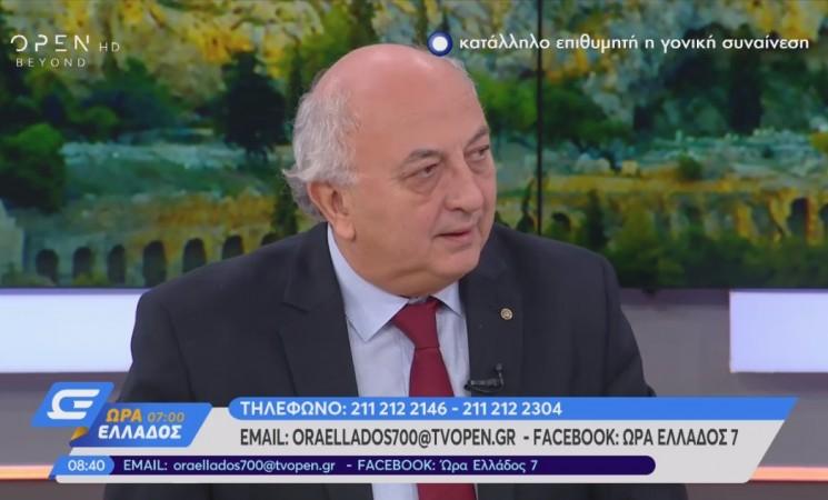 Ο Γιάννης Αμανατίδης στο OPEN TV - 23 Νοεμβρίου 2018