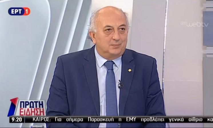 Ο Γιάννης Αμανατίδης στο Πρώτο Πρόγραμμα της ΕΡΑ (ηχητικό)