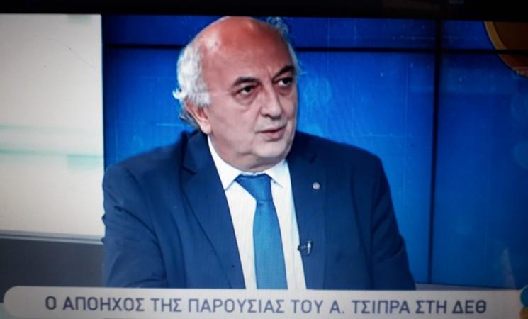 Ο Γιάννης Αμανατίδης στην ΕΡΤ3 (video)