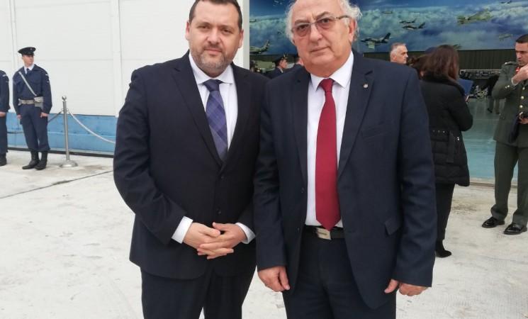 Υποδοχή λειψάνων των Ελλήνων αγωνιστών της Κύπρου
