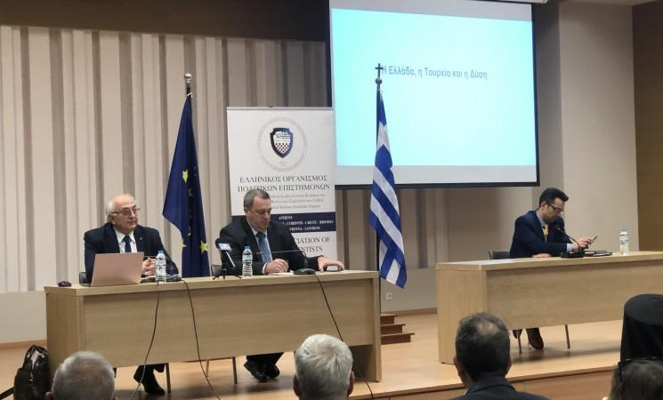 Ομιλία στην Κομοτηνή: «Ελλάδα, Τουρκία, Δύση» (video)