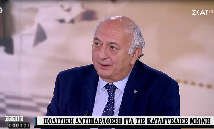 Ο Γιάννης Αμανατίδης στους «Αταίριαστους» (video)