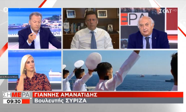 «Χρειάζεται ξεκάθαρη εθνική γραμμή απέναντι στην Τουρκία» (βίντεο)