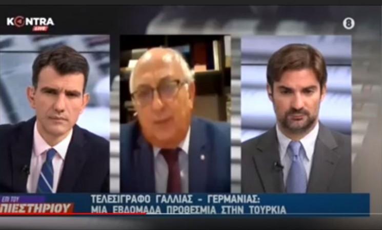 Ο Γιάννης Αμανατίδης στο «KONTRA Channel» (video)