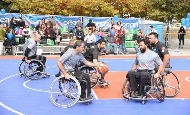 Αναφορά Αμανατίδη για την ενίσχυση των αθλητικών σωματείων ΑμεΑ