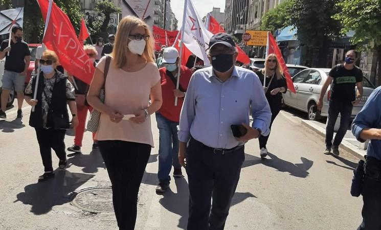 «Οργή λαού για το αντεργατικό νομοσχέδιο Χατζηδάκη» (video)
